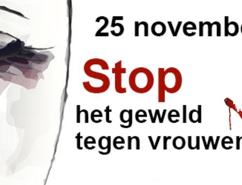 Stop het geweld tegen vrouwen
